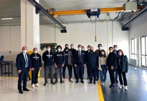 AB Plus Bilişim Teknolojileri (Tırport) firmasını okulumuzda ağırladık.