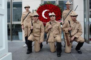 Özel Adem Ceylan Teknik Kolejinde Çanakkale Zaferi'nin 106. Yılı Kutlandı.