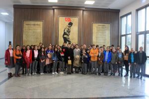Gebze Adem Yavuz Ortaokulu Öğrencilerini Ağırladık
